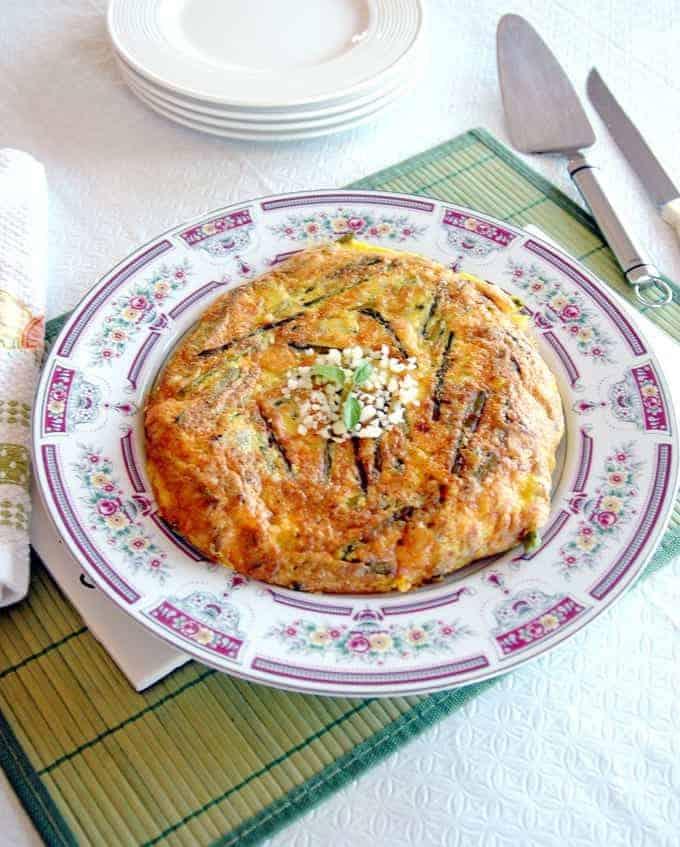 Mom's Asparagus Frittata