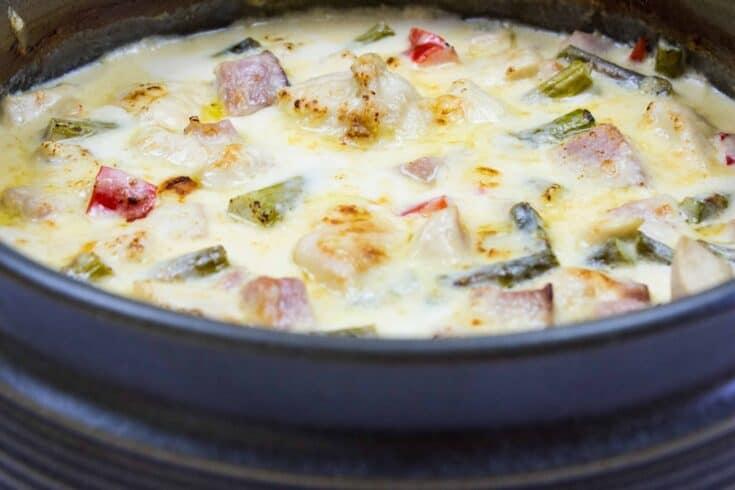 Chicken, Ham & Asparagus Casserole