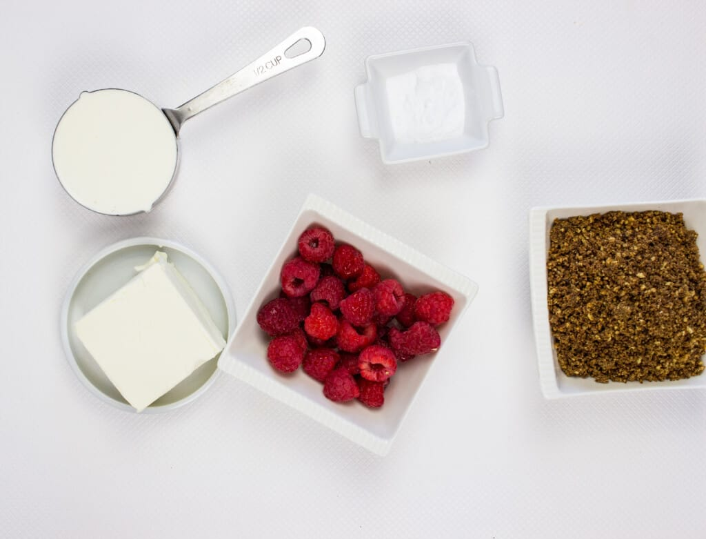 frozen cheesecake balls ingredients