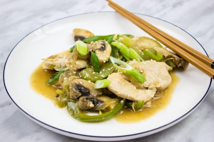 Quick & Easy Keto Chicken Stir Fry