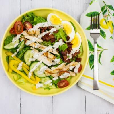 Easy Keto Cobb Salad