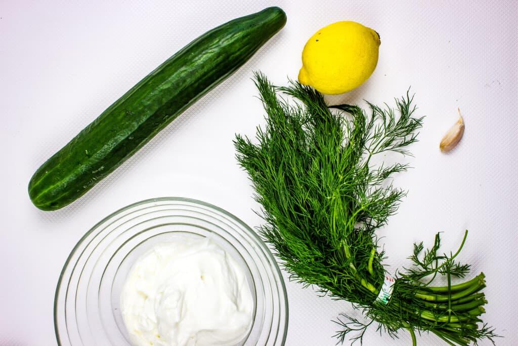 tzatziki sauce keto ingredients