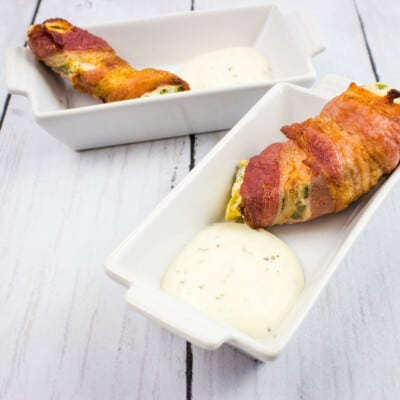 Ranch Keto Jalapeno Poppers (Air Fryer)