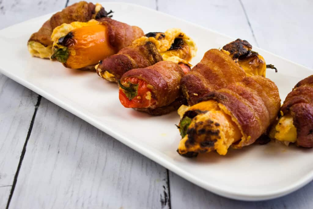 keto sweet pepper poppers