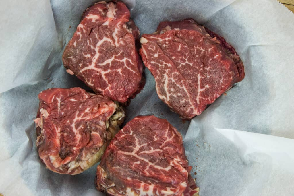 stunning beef tenderloin steaks