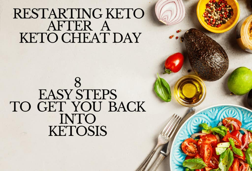 8 steps to restarting keto after a keto cheat day