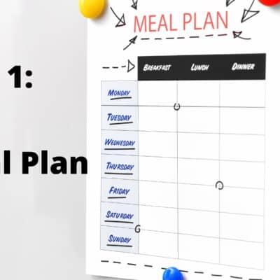 Week 1: Free Keto Meal Plan