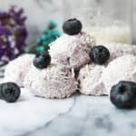 blueberry keto fat bombs