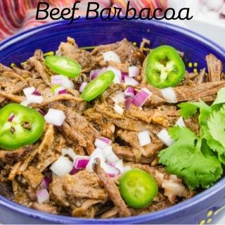 keto beef barbacoa in a bowl
