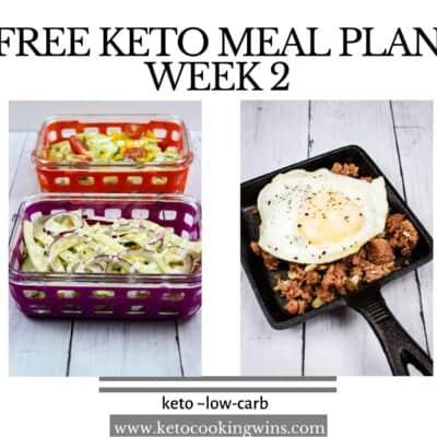 Keto Meal Plan: Week 2