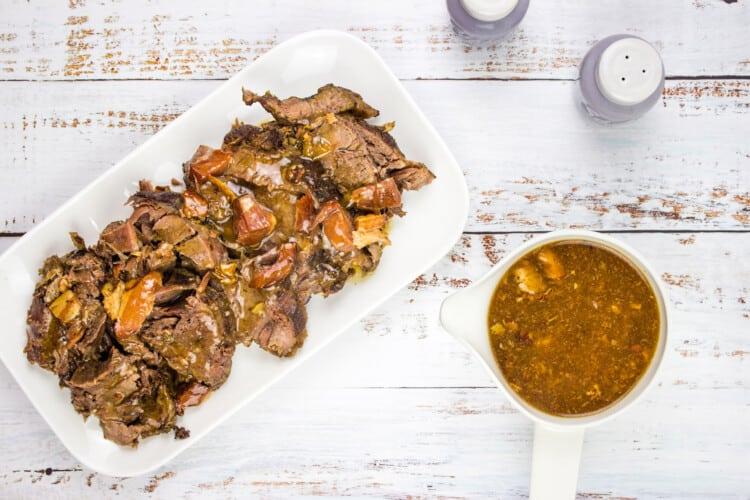 Keto Pot Roast with Bacon