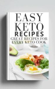 Easy Keto Recipes eBook cover image