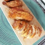cut up roasted cajun chicken