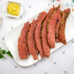 Instant Pot keto corned beef and cabbage