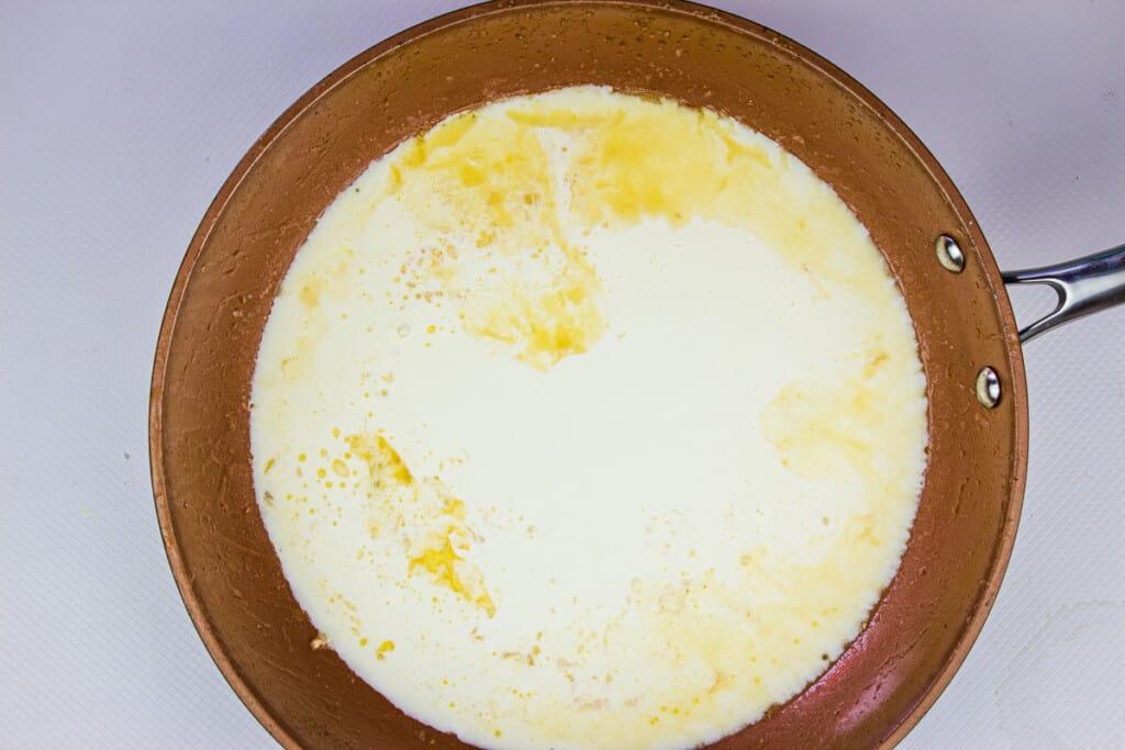 reducing the cream
