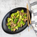 keto ground beef and broccoli