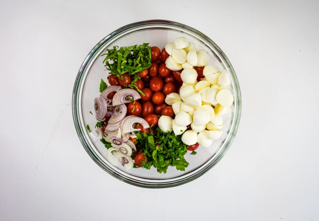 all ingredients in a mixing bowl