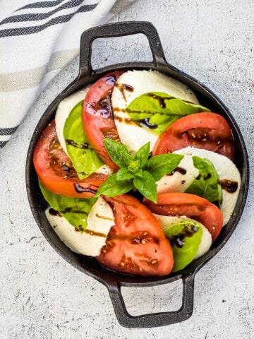 classic keto caprese salad