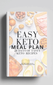 Easy Keto Meal Plan Cover Image