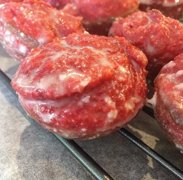 Red Velvet Donut Holes
