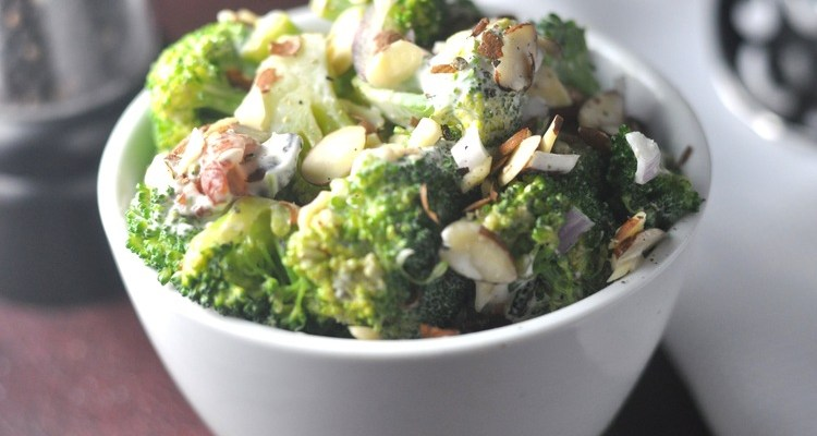 keto broccoli salad – Low Carb, Gluten-Free, Ketogenic