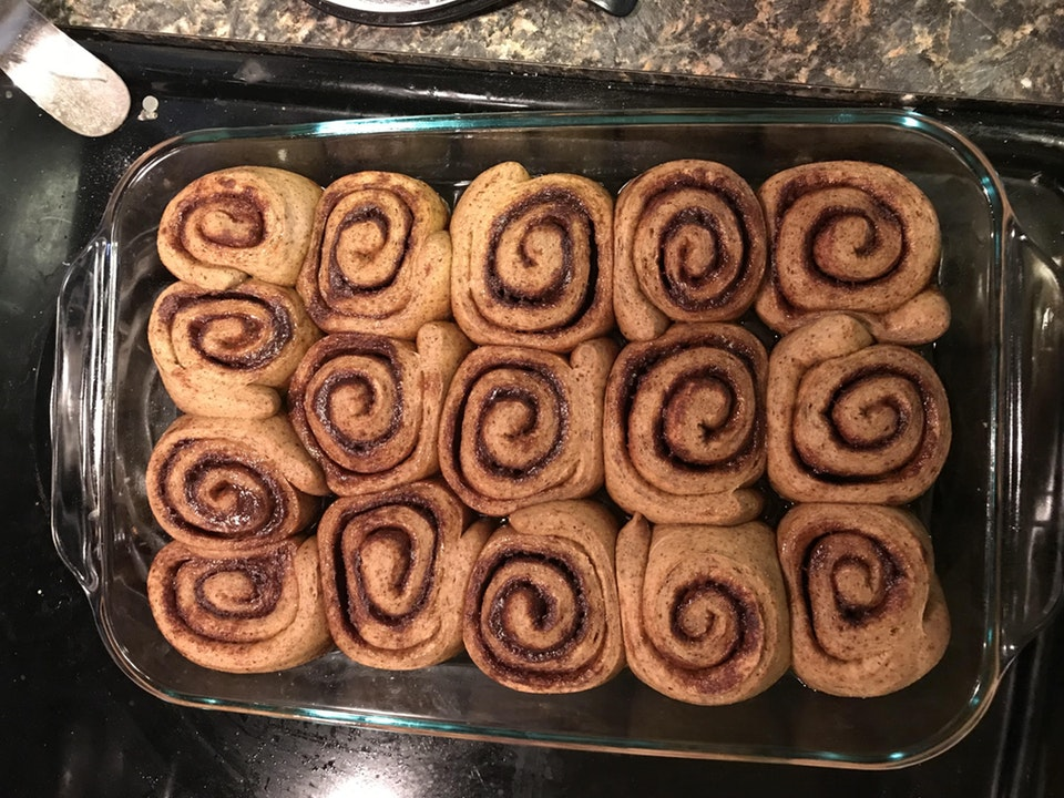 2 carb cinnamon rolls. Not fathead. No almond or coconut flours.