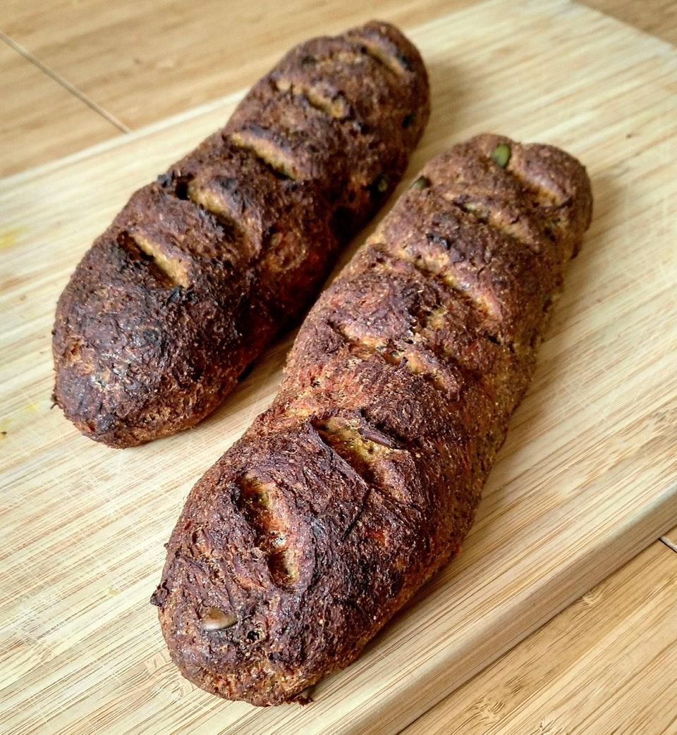 Easy carrot bread