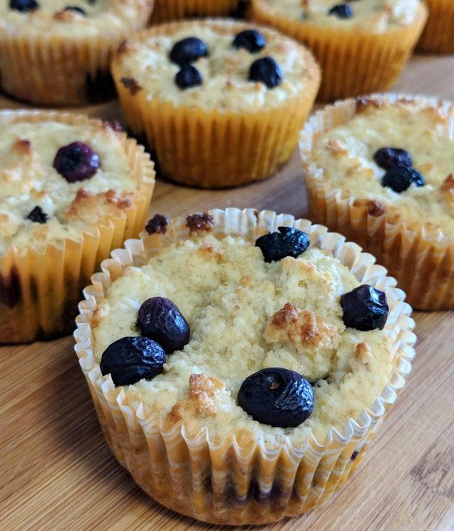 Blueberry Cream Cheese Muffins!!