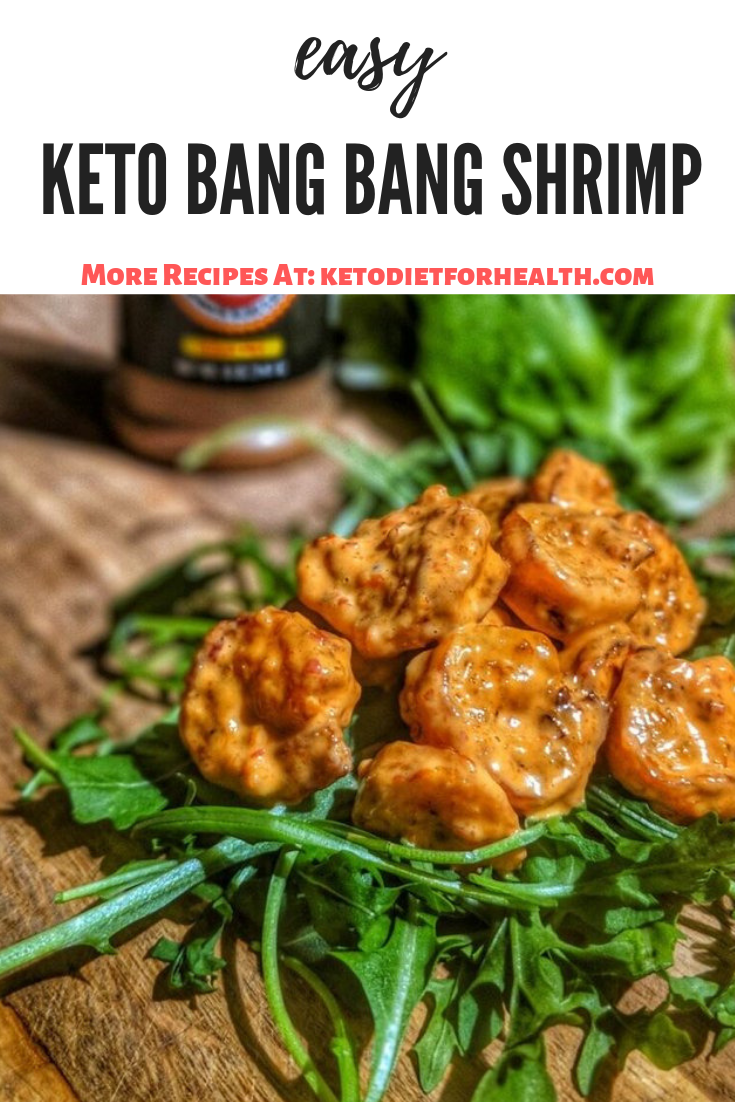 Keto Bang Bang Shrimp