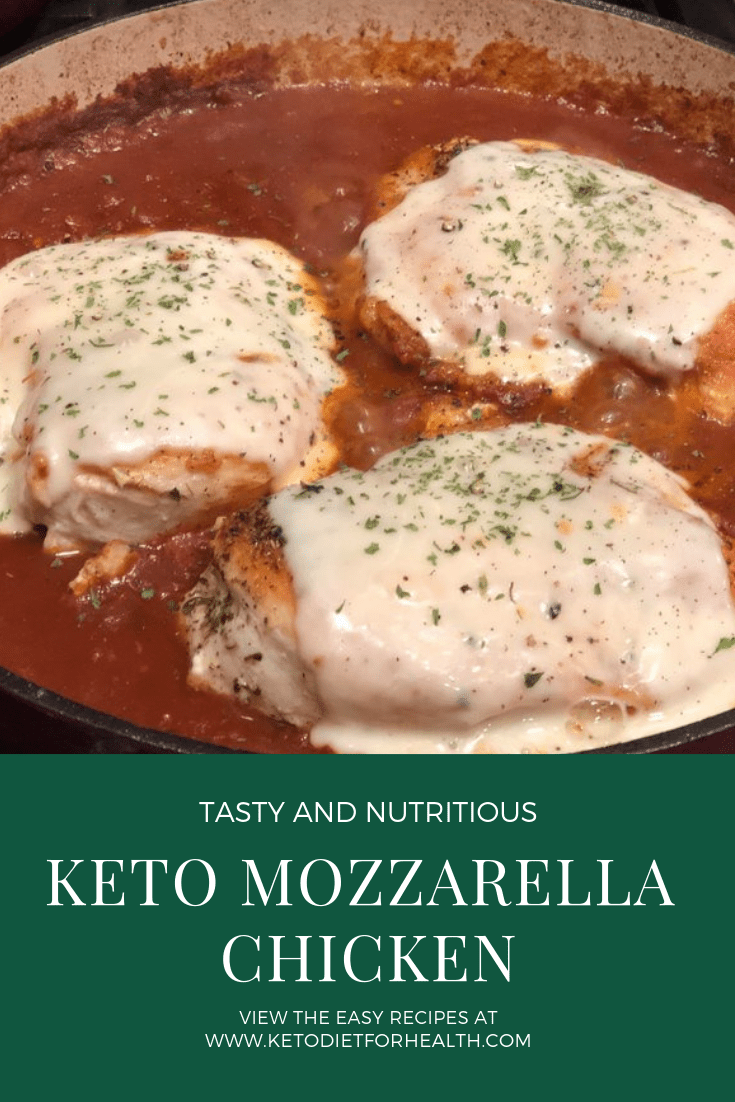 Keto Mozzarella Chicken