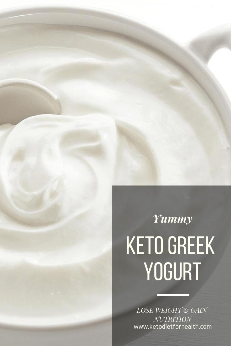 Keto Greek Yogurt
