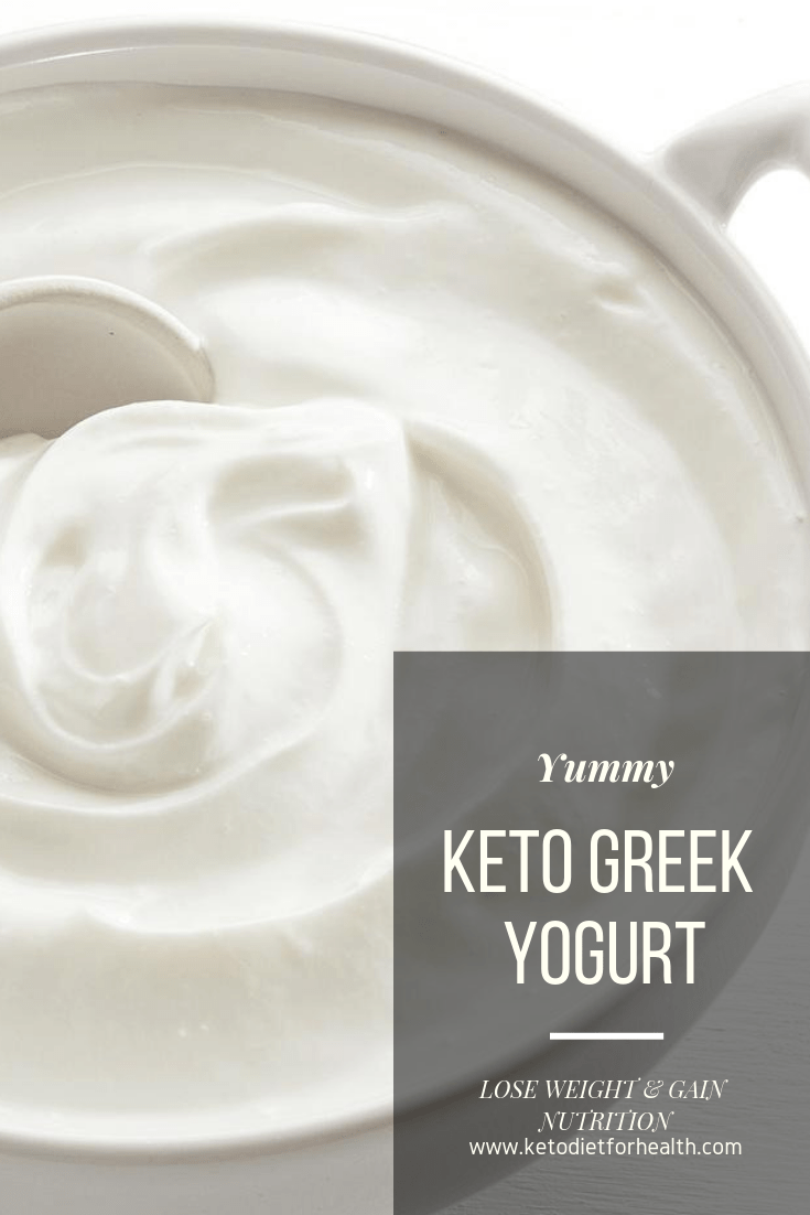 Keto Greek Yogurt