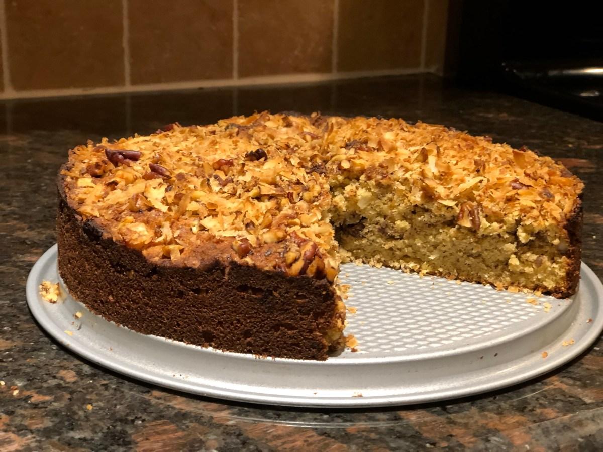 Keto Coconut Dream Cake