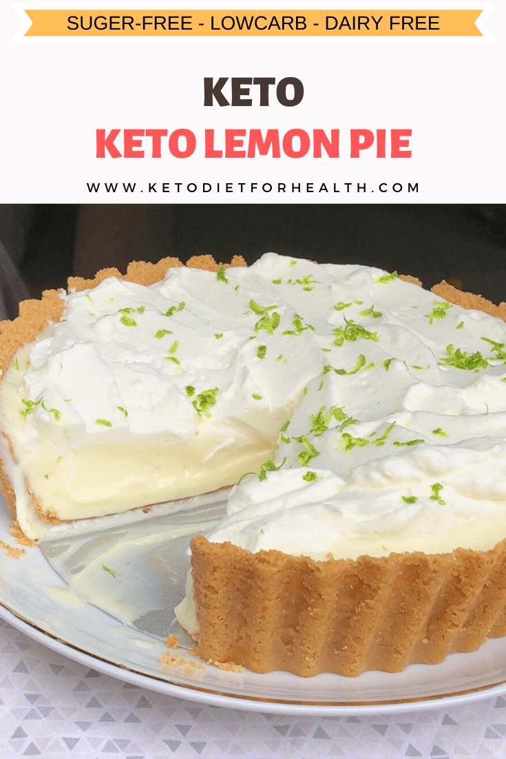 Keto Lemon Pie