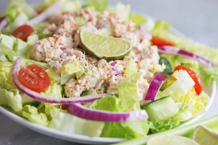 Zesty Chili Lime Keto Tuna Salad Recipe