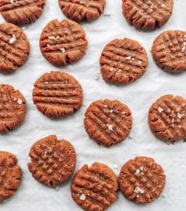 Peanut Butter Cookies on a Sheet Pan