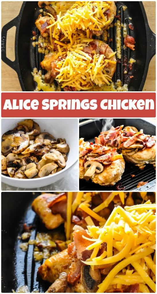 Alice Springs Chicken #lowcarb #keto #ketogenic #atkins #genaw #outback #steakhouse #chicken #recipe #healthy