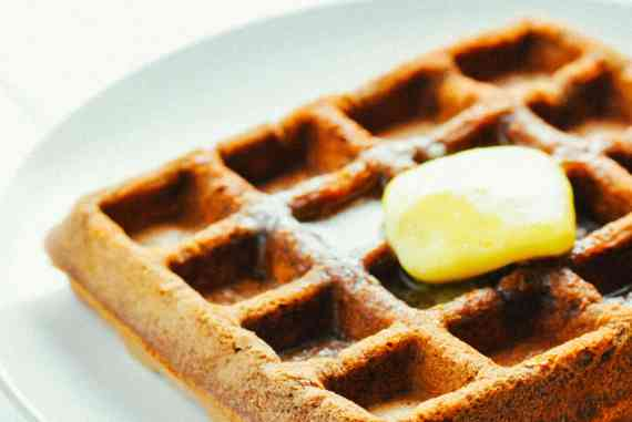 Chocolate Protein Waffles [Recipe]   KETOGASM #keto #ketogenic #recipes #protein #powder #low carb #breakfast #waffle #chocolate #atkins #healthy