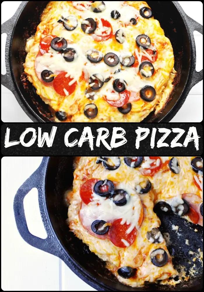 Low Carb Pizza - MEATZA! #keto #recipes #low #carb #meatza #pizza #turkey