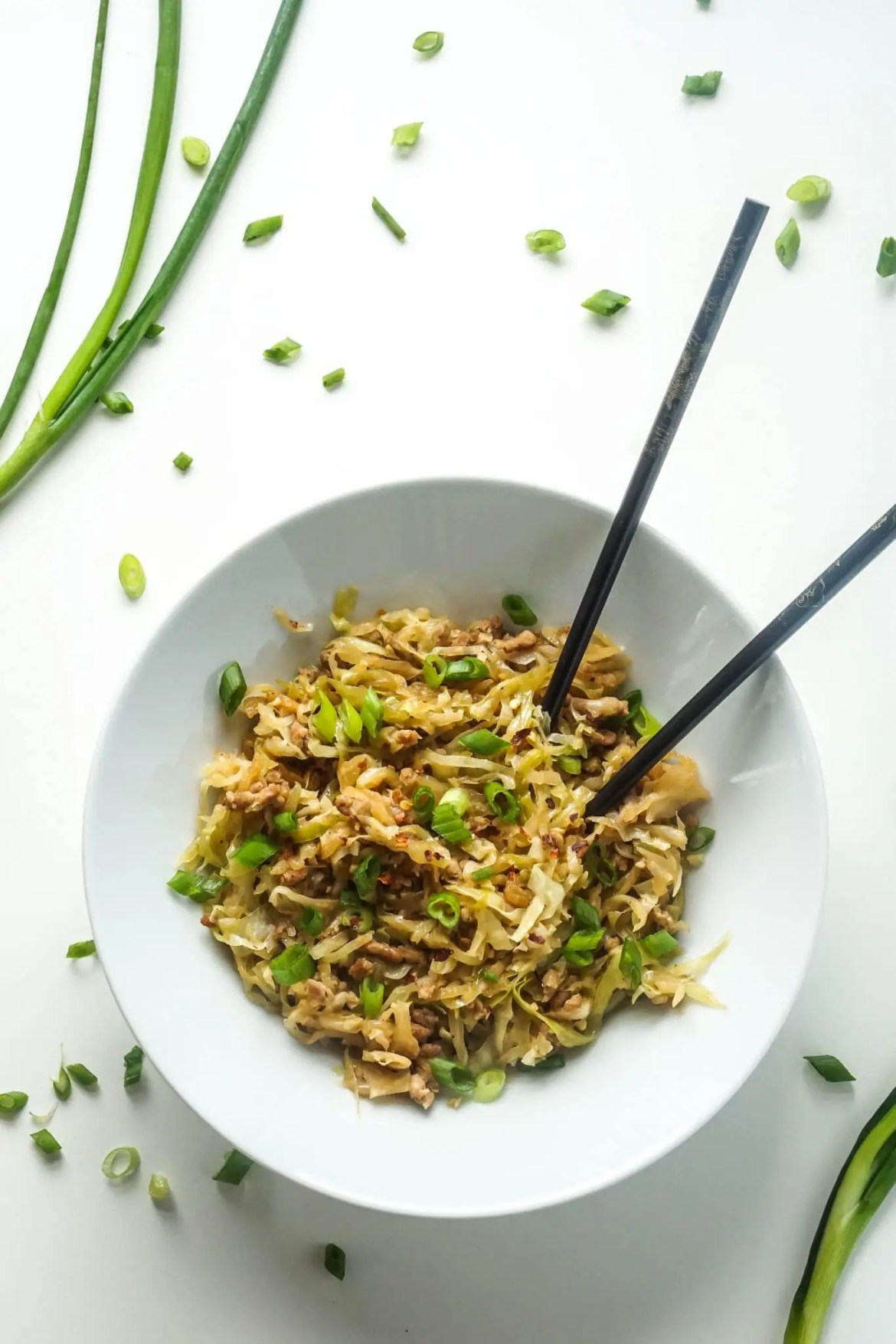 Keto Egg Roll in a Bowl [Recipe]
