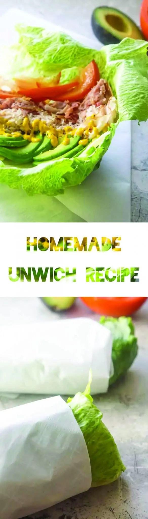 Homemade Unwich Recipe | Keto Diet | Low Carb | Lettuce Wrap | Jimmy John's