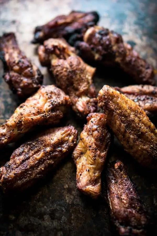 Low Carb Keto Smoked Chicken Wings Recipe - Keto Dry Rub [Sugar Free, Gluten Free]