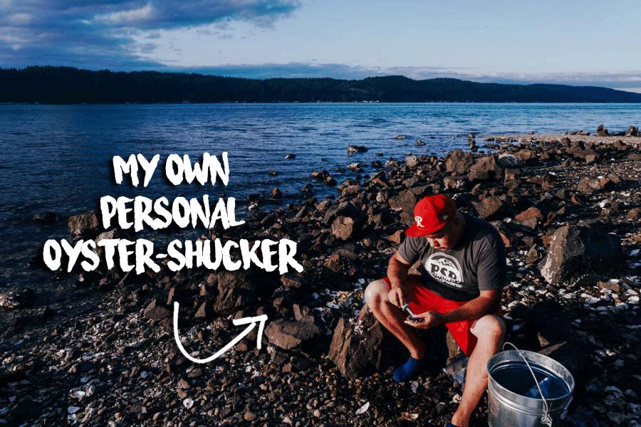 Ketogasm's official oyster shucker