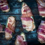 Low Carb Jalapeno Poppers Smoked with Bacon & Cream Cheese [Keto, Gluten Free]