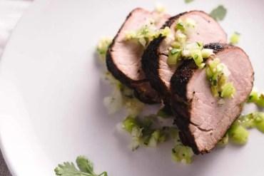 Smoked Pork Tenderloin with Low Carb Dry Rub - Keto, Sugar-free, Gluten-free