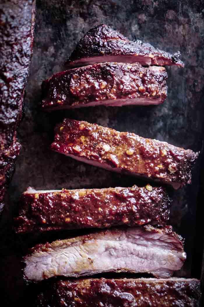 Smoked Pork Spare Ribs & Garlic Chili Sauce Recipe - How long do you smoke pork spare ribs?