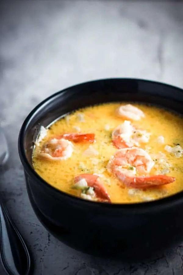 Keto Shrimp Soup - Difference Between Shrimp Soup and Shrimp Chowder