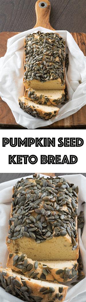 Pumpkin Seed Keto Bread - Gluten-Free, Low Carb Bread Alternative