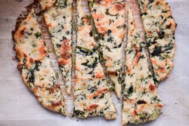 Keto Flatbread Recipe - Low Carb, Gluten Free