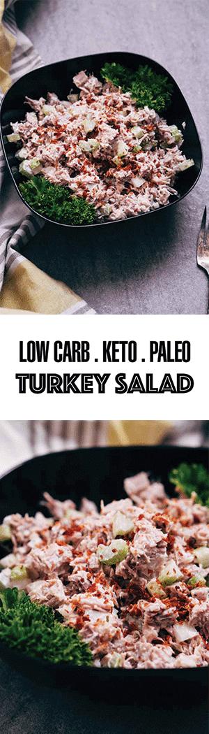 Healthy Turkey Salad Recipe - Low Carb, Keto, Paleo